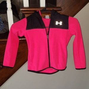 Size 4, Under Armour ZipUp hoodie